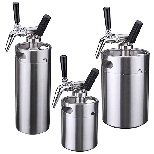 Nitro Cold Brew Coffee Maker,Yingte Mini Stainless Steel Keg Home Brew Coffee Cup System Kit(5L) by Yingte (Image #3)