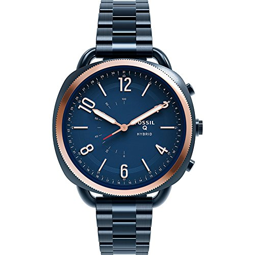 Fossil Hybrid Smartwatch - Q Accomplice Navy Blue Stainless by Fossil