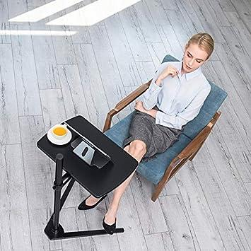 Thingy Club Table dappoint pour ordinateur portable r/églable en hauteur pour lit ou canap/é Tableau blanc argent/é.