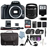 Canon EOS Rebel SL2 Bundle With EF-S 18-55mm f/4-5.6 IS STM Lens + Deluxe Accessory Kit - Includes EVERYTHING You Need To Get Started