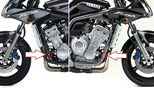 Replacement Mirrors Left Right Pair for Yamaha FZS 1000 Fazer 01-05