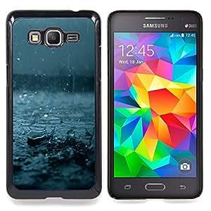 For Samsung Galaxy Grand Prime SM-G530F G530FZ G530Y G530H G530FZ/DS , Otoño Azul Tormenta de verano Naturaleza - Diseño Patrón Teléfono Caso Cubierta Case Bumper Duro Protección Case Cover Funda