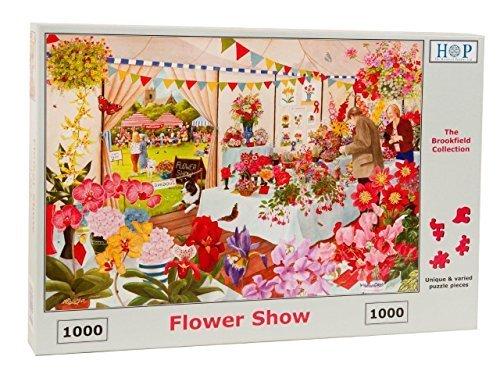 1000 Piece Jigsaw Puzzle - Flower Show  NEW JULY 2015