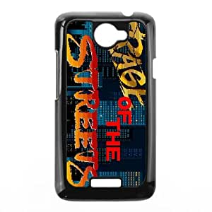HTC One X Cell Phone Case Black Streets of Rage2 LSO7915599
