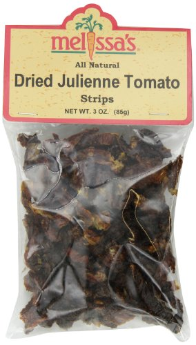 Melissa's Dried Tomato Julienne, 3-Ounce Bags (Pack of 12)