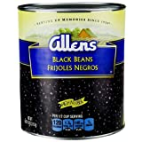Allen Black Beans, 111 Ounce Can - 6 per case.