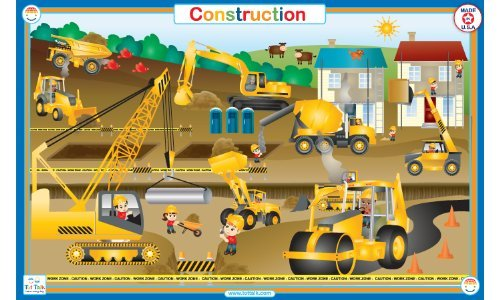 Construction-Placemat