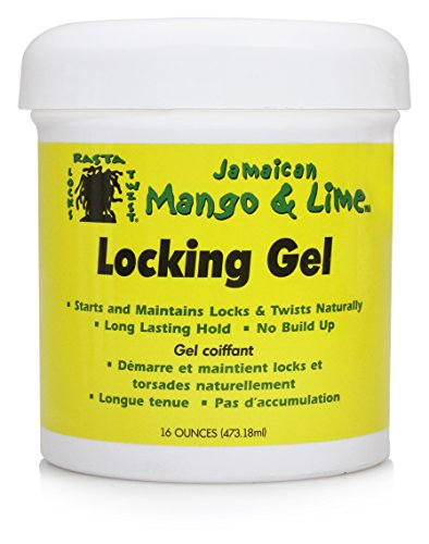 Jamaican Mango and Lime Locking Gel, 16 Ounce (Pack of 6)
