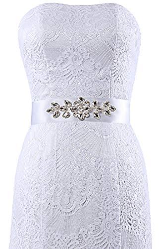 ANTS Women's White Wedding Mermaid Lace Gowns Bridal Dresses D PvqP7dxr