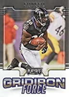 2017 Playoff Football Gridiron Force #19 Ed Reed Baltimore Ravens