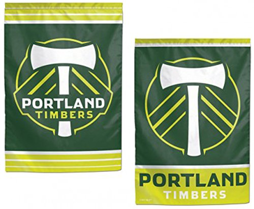 WinCraft Portland Timbers FC Garden Flag 12.5 x 18 inches Double - Garden Timber
