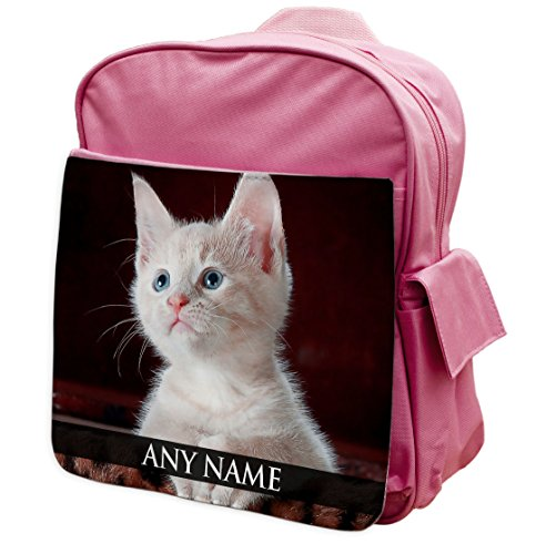 Personalisierbar Kitty Zainetto Per Animali Rosa 178