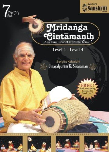 Mridanga Chintamanih Level 1 to Level 4 by Swathi Sanskriti Series