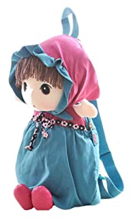 Cute Childrens Backpack For School Toddle Backpack Baby Bag, Blue Black Temptation