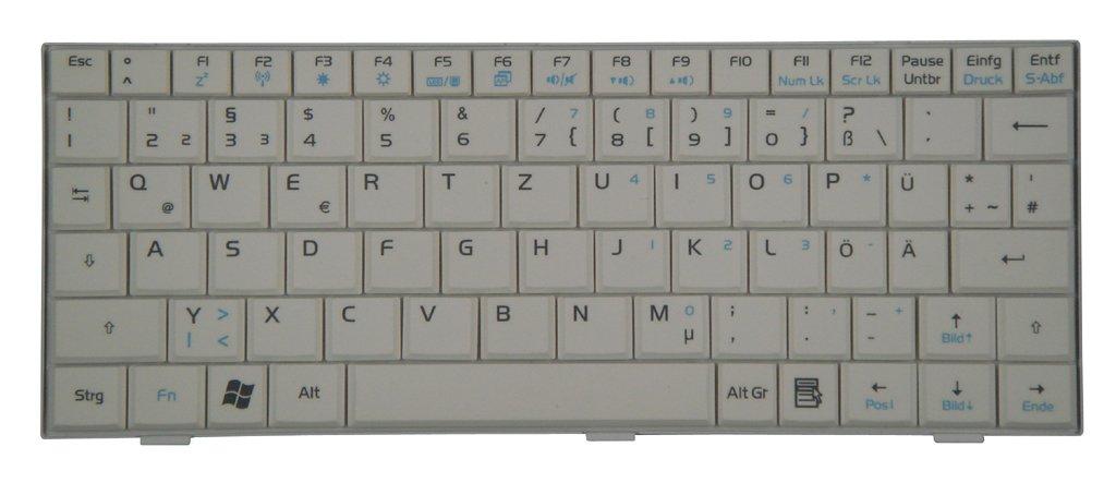 Original Teclado Asus Eee PC 900, Asus Eee PC 900 A, Asus Eee PC 900HD, Asus Eee PC 901 NETBOOK series blanco de nuevo: Amazon.es: Informática
