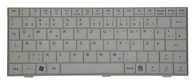 Original Teclado Asus Eee PC 701 NETBOOK series blanco de nuevo: Amazon.es: Informática