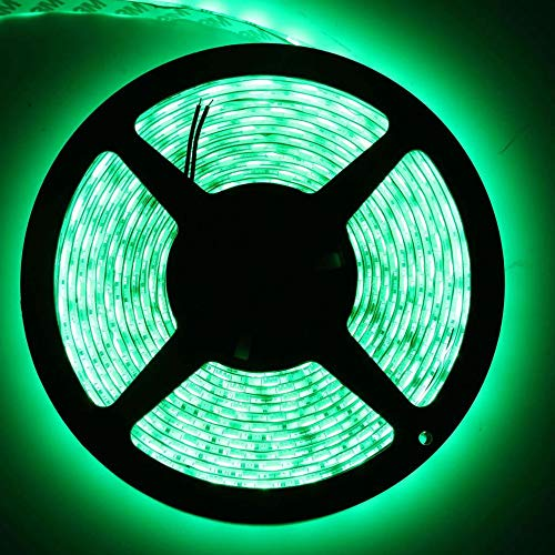 Yu2d  5M 5050 SMD RGB Flexible Strip LED Light Muti Color 12V 300 led Lamp(Green)]()