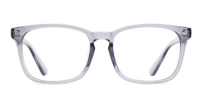 Para estrenar cbec8 c7c67 TIJN Gafas Transparentes Retro Anteojos Lente Claro Gafas Para Mujer y  Hombre