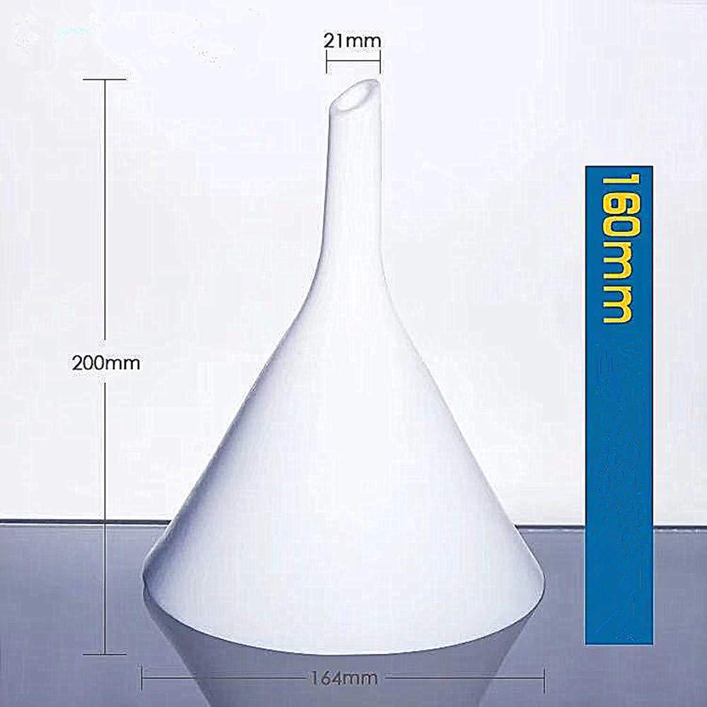 PTFE funnel polytetrafluoroethylene triangular funnel Teflon split funnel (160mm) by Futt