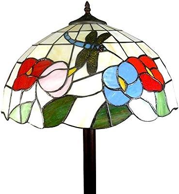 Htdeco - Luminaires - Lámpara de pie Tiffany Nice: Amazon.es ...