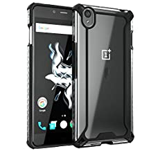 Poetic Cases Affinity Slim Fit Dual Material Protective Bumper Case for OnePlus X, Black