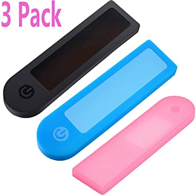 3 Pack Xiaomi M365 Waterproof Silicone Cover Transparent Rubber Case Dust Proof Protective Shell Protector for Xiaomi M365 Pro Electric Scooter Accessories Parts (3 Piece Black Blue Pink).relist : Sports & Outdoors
