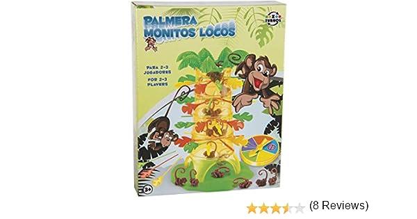 XTURNOS Juego Palmera Monitos Locos: Amazon.es: Juguetes y juegos