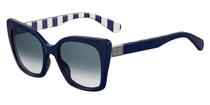 Love Moschino MOL000/S Gafas de sol, Azul (Blue), 53.0 para ...