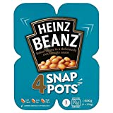 Heinz Baked Beanz in Tomato Sauce Snap Pots (4x200g)