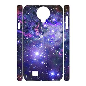 HIJULI (Nebula Galaxy) Customized Popular Durable 3D Phone Case for SamSung Galaxy S4 I9500(HJH999165)