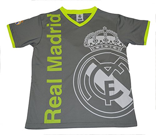 Real Madrid Fc Soccer Jersey Youth Kids Training (Green, YM)