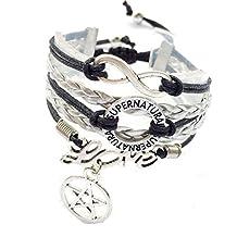 Adjustable Supernatural Bracelet Pagan Charm Wiccan Jewelry