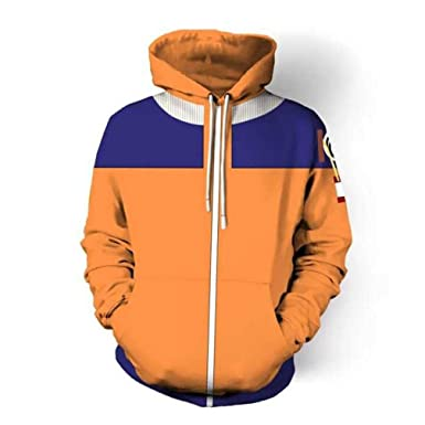Unisex 3D Sweater Anime Naruto Pullover Hoodie Hoodies Casual Sweatshirts  with Pocket at Amazon Men s Clothing store  1b3826425