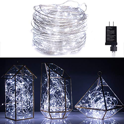 100ft 300LED Pure White Starry String Lights on a Flexible Copper Wire - Perfect For Creating Instant Appeal in Any Setting - Parties, Bedrooms, or an Intimate Environment Anywhere in the Home
