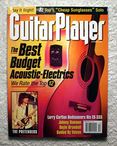The Best Budget Acoustic Electrics - Guitar Player Magazine - October 1999 - Johnny Ramone, The Pretenders Articles - No Address Label!