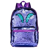Best Backpack For Teenage Girls - SIWA MARY Reversible Sequins School Backpack for Girls Review