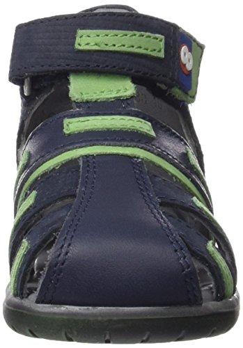 Mod8 Ikar - Zapatos de primeros pasos Bebé-Niñas Azul - Bleu (Marine)