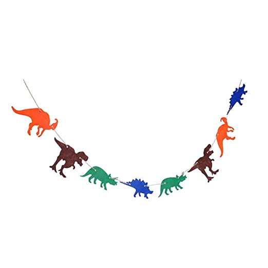 TOPofly Banner Dinosaurios,Guirnalda de Cumpleaños Fiesta en ...