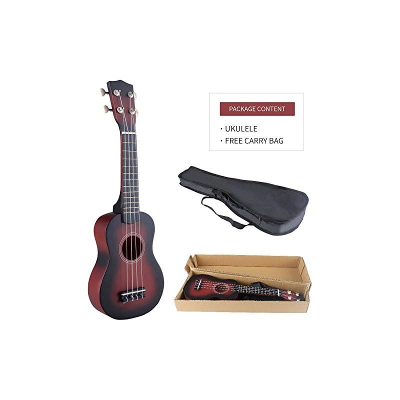 LAGRIMA Ukulele 21Inch Soprano Acoustic
