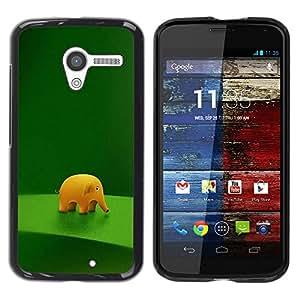 """For Motorola Moto X Motorola Moto X ( 1st Generation ) , S-type Divertido lindo del elefante"""" - Arte & diseño plástico duro Fundas Cover Cubre Hard Case Cover"""
