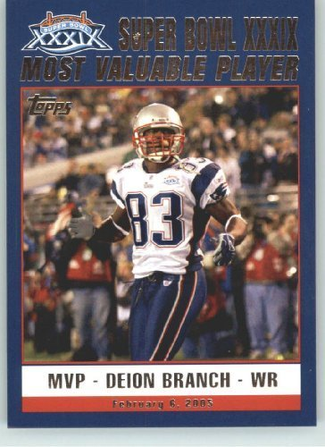New England Patriots Deion Branch - 5