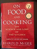 img - for On Food And Cooking book / textbook / text book
