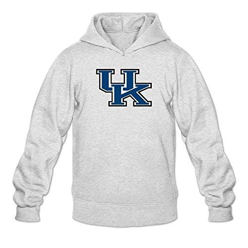 Men's Skal Labissiere Uk Kentucky Wildcats Logo Hooded Sweatshirt (Kentucky Wildcats Sunshade)