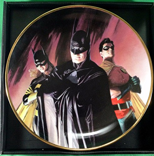 Batman Family Alex Ross art DC collectors plate #1445/1500 (Ross Art Alex)
