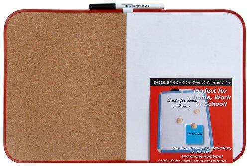 Dooley Boards Vinyl - Dooley Cork Combo Board, Natural, 11 x 17 Inch, 1 Board (1117CO/MBV)