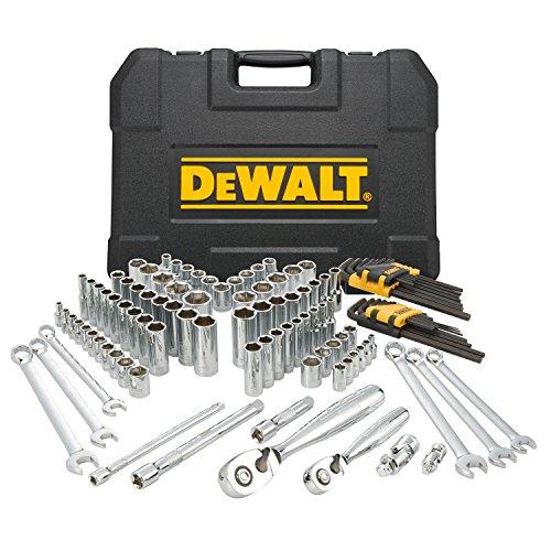 DEWALT Mechanics Tools Kit and Socket Set, 118-Piece (DWMT72163)