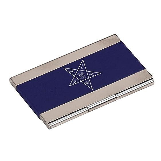 Order of eastern star crest business card holder royal blue at order of eastern star crest business card holder royal blue reheart Images