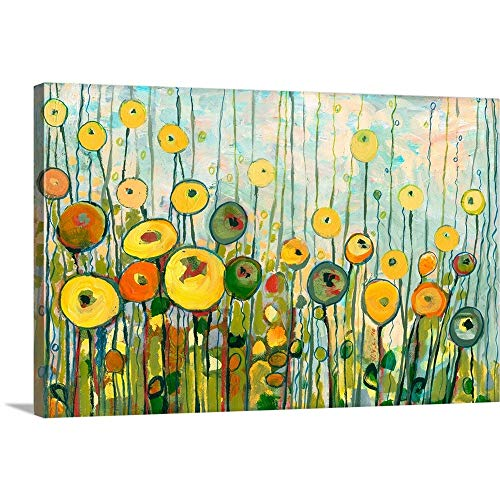 I'll Meet You for Martinis in The Poppy Garden Canvas Wall Art Print, 24