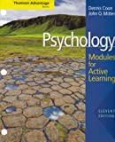 Psychology : Modules for Active Learning with Concept Modules with Note-Taking and Practice Exams, Coon, Dennis and Mitterer, John O., 049550453X