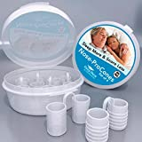 Nose-ProCones Sleep Relief, Sleep Apnea Snoring, Stop Snoring Devices & Anti – Snore Solutions by Sleep More - Nose-ProCones. A Two Size/Set of 4.